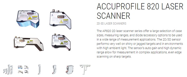 Acuity Laser 2D Scanner / Profiler
