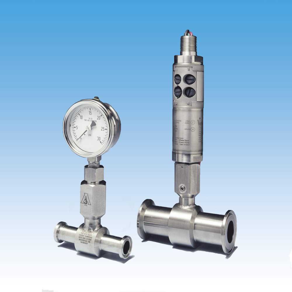 Flow Through Isolator for use with Pressure